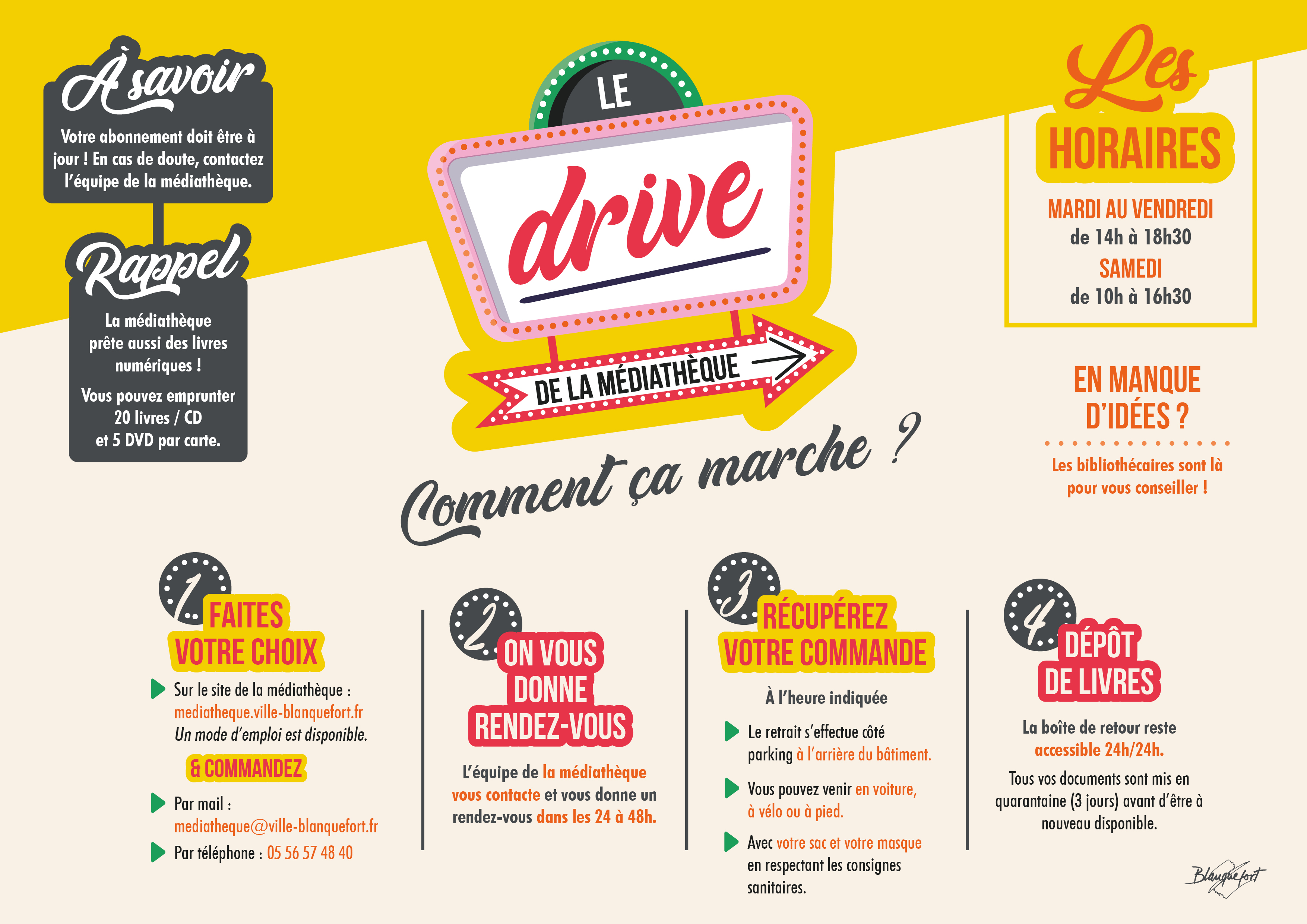 Drive Mediatheque RVB